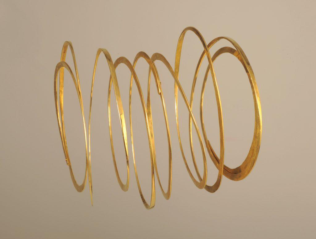 Bracelet Shake it! 2009, bronze,10x10x6 cm
