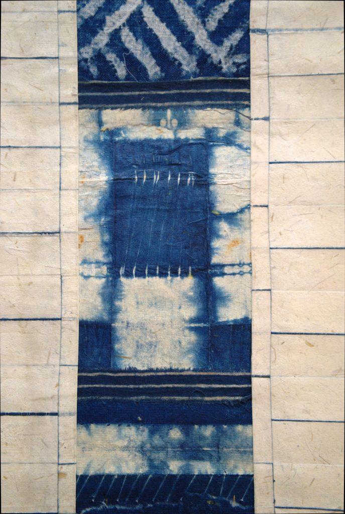 Blue Marks I detail