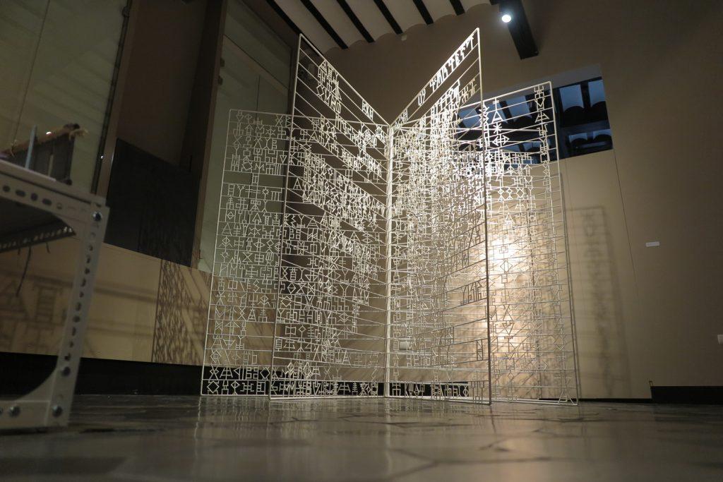 '' Open Book '' at Grand Curtius Museum